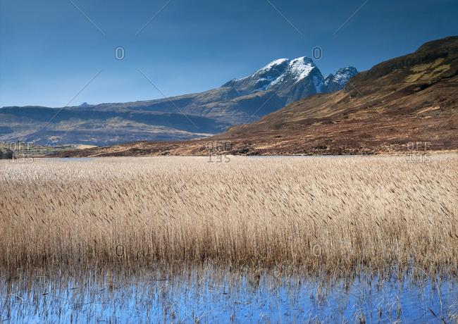 Mount Blaven on the Isle of Skye, Scotland
