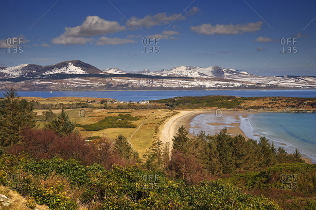 The Isle of Arran from Carradale, Scotland