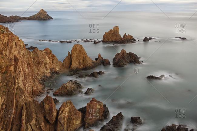 Arrecife de las Sirenas. Cabo de Gata Natural Park. Almeria. Andalucia. Espana