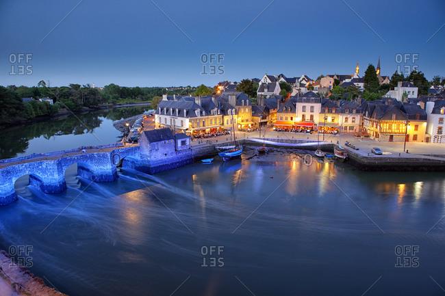 Brittany, Auray, Saint-Goustan District In France