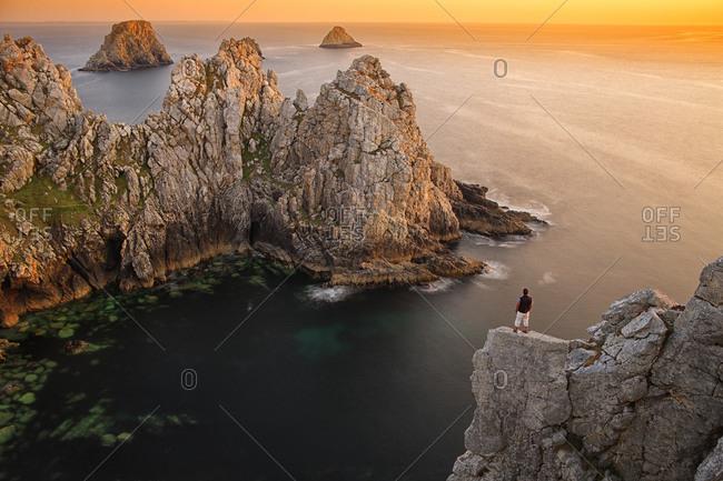 France, Brittany,Finistere, Pointe de Pen-Hir, the Tas de Pois