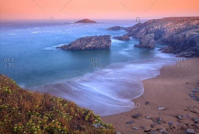 Sunrise in Wild Coast In Quiberon