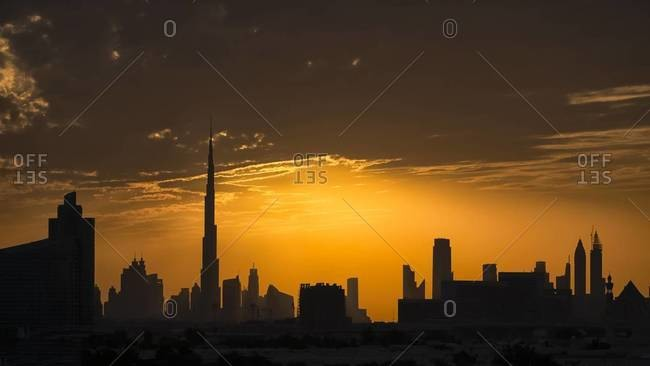 Another day  another sunset in Dubai