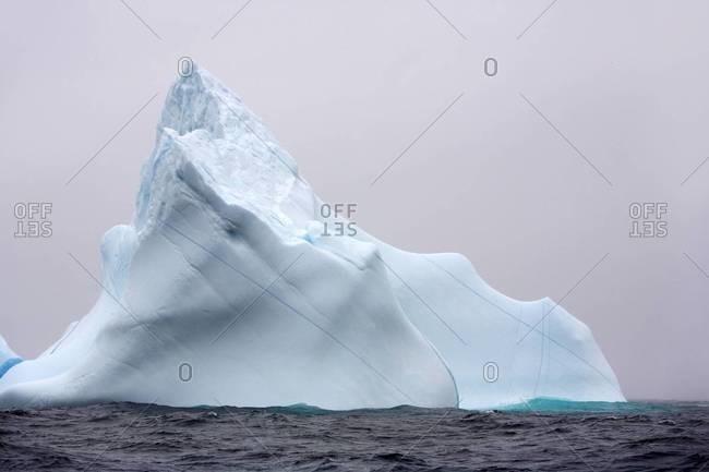 Canada icebergs near Newfoundland