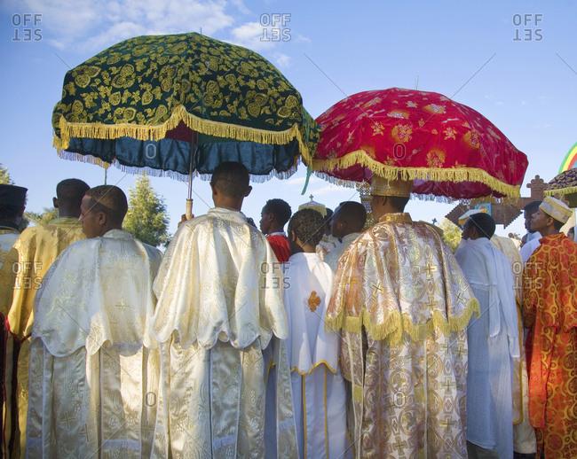 Ethiopia - January 18, 2007: Timket (Ethiopian Ephinany) celebration