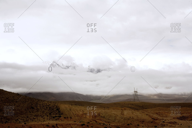 Snowy landscape in Northern Argentina