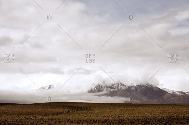 Snowy landscape in Northern Argentina