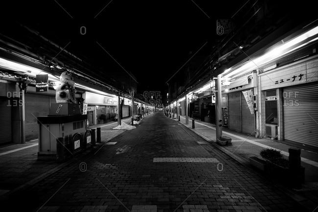 Night in Hida-Takayama, Gifu Prefecture, Japan