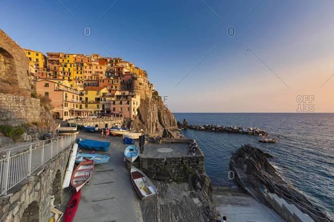 Italy, Liguria, Cinque Terre, Manarola