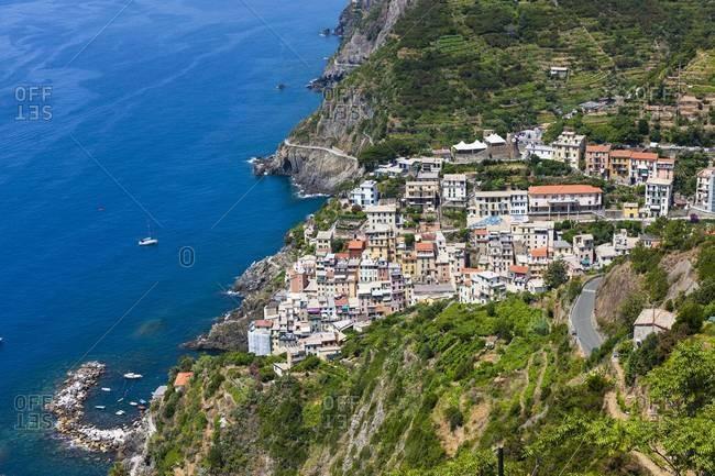 Italy, Liguria, Cinque Terre, Riomaggiore