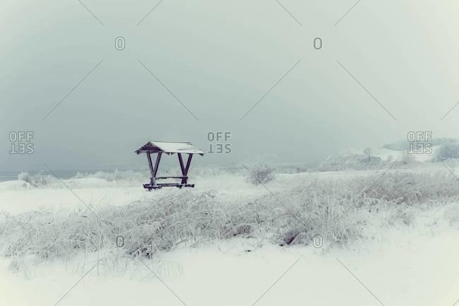 Germany, Mecklenburg-Western Pomerania, Ruegen in winter