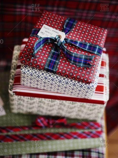 Christmas presents, Smaland, Sweden - Offset