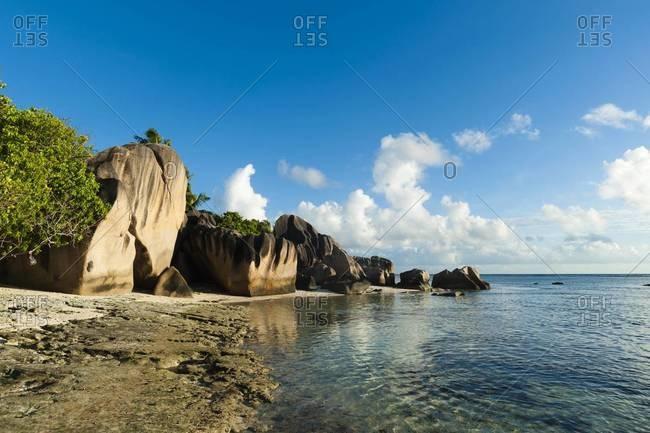 Anse Source d'Argent beach, La Digue, Seychelles, Indian Ocean, Africa