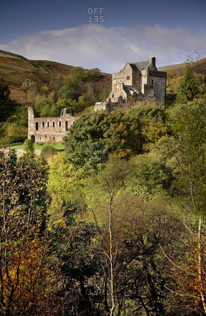 Castle Campbell at Dollar Glen, Scotland