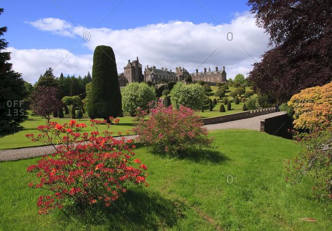 Drummond Castle, near Crief, Perthshire