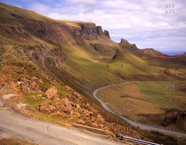 The Storr Rock on the Isle of Skye, Scotland