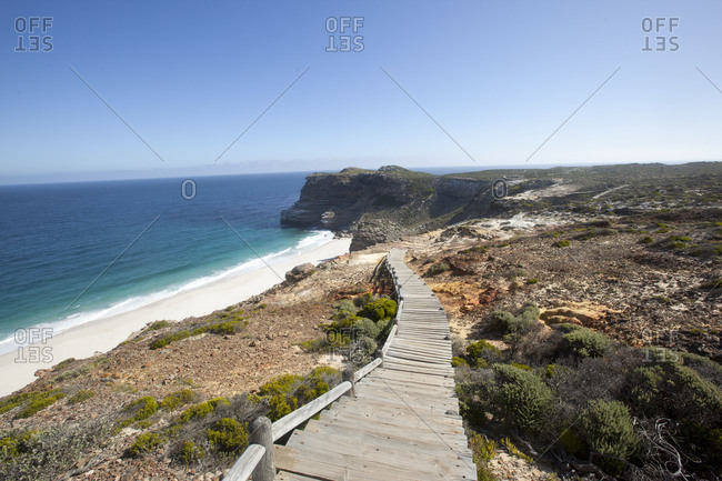 Boardwalk at Diaz Beach, Cape Point