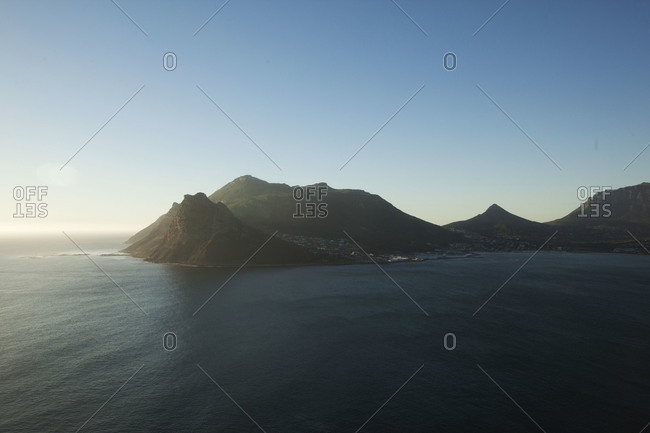 Cape Peninsula with Table Mountain, South Africa