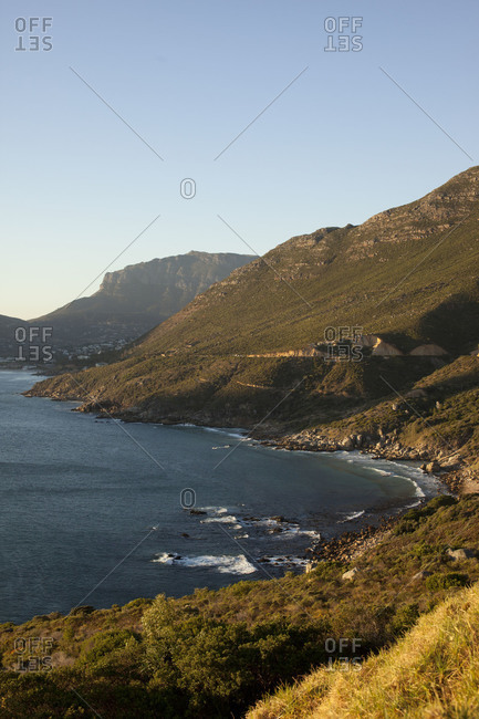 Small bay at the Cape Peninsula