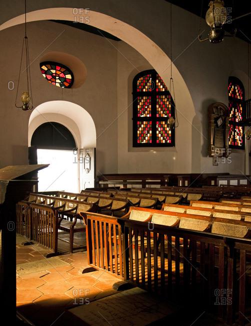 Church interior, Galle, Sri Lanka
