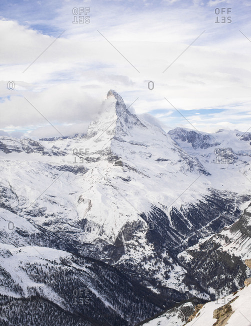 High summits around Zermatt, Switzerland