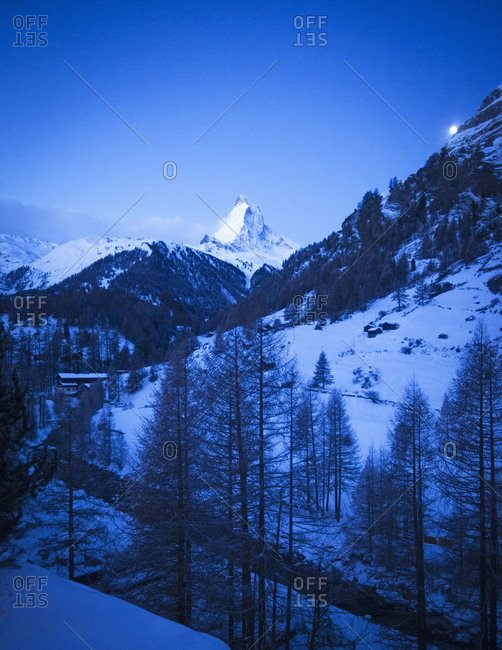 High summits around Zermatt