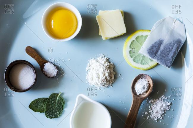Sweet tea cookie ingredients - Offset