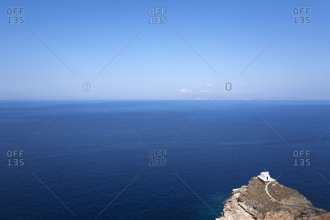Waterscape in Sifnos, Greece