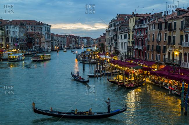 Canale Grande at dusk - Offset