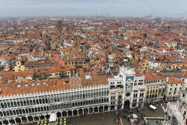 View from Campanile to St. Mark's Square and Procuratie