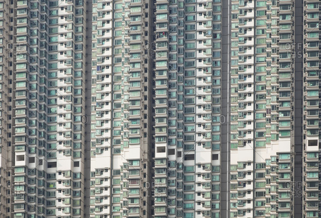 Units of a high rise residential buildings