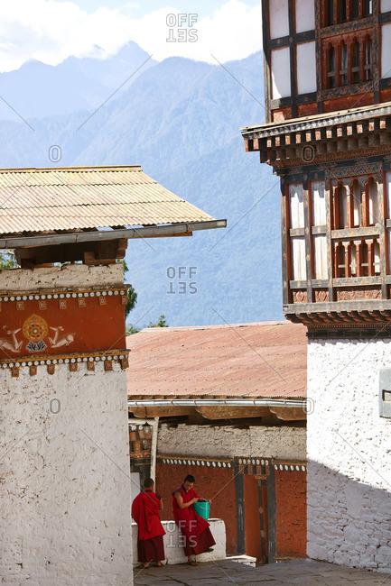- October 6, 2011: Buddhist monastery and fortress in Tongsa, Bhutan