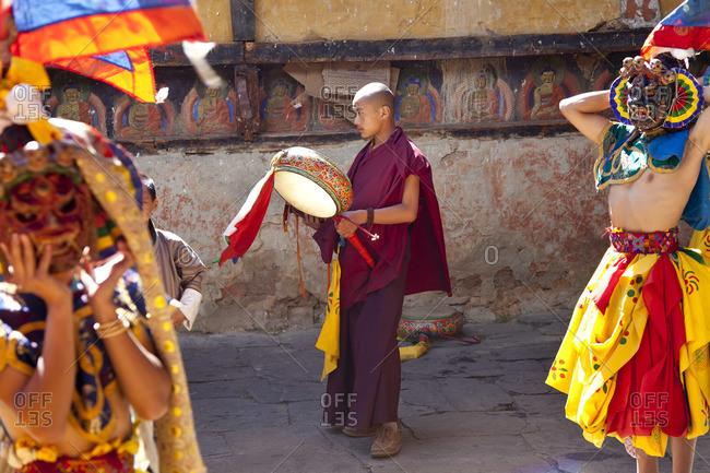 - October 7, 2011: Tamshing Phala Chhoupa festival, Tamshing Monastery, near Jakar, Bumthang, Bhutan