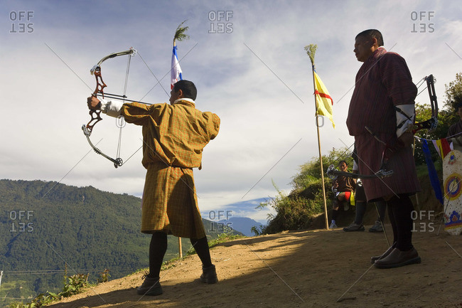- October 18, 2008: Archery competition, Bumthang, Bhutan