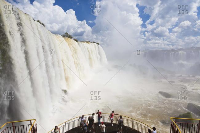 - December 9, 2011: Iguazu Falls, in Iguazu National Park, Brazil