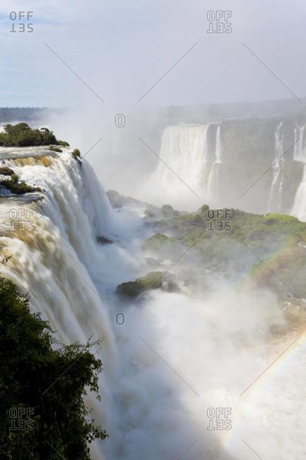 Iguazu Falls, in Iguazu National Park, Brazil