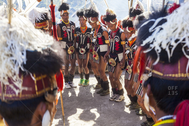 - December 2, 2012: Chang tribe dancing, Nagalan, India