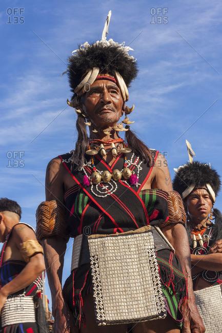 - December 2, 2012: Konyak tribe warrior, Nagaland, India