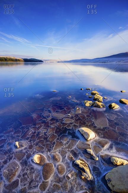 Loch Naver in winter - Offset