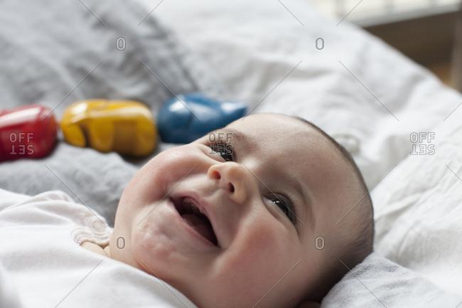 Portrait of infant boy