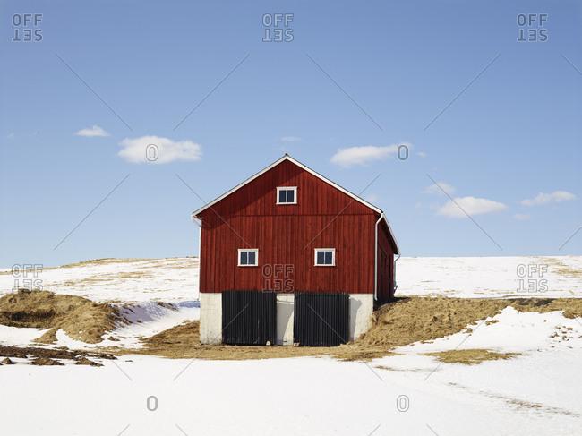 Wooden barn, Vastergotland, Sweden