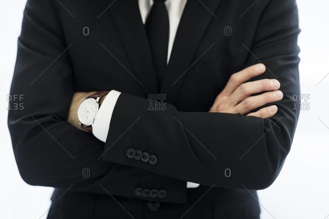Mid adult businessman, Stockholm, Sweden