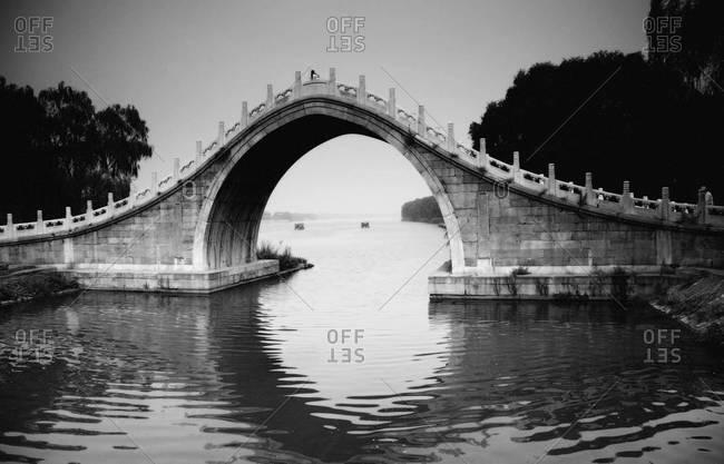 Summer palace bridge in Beijing, China
