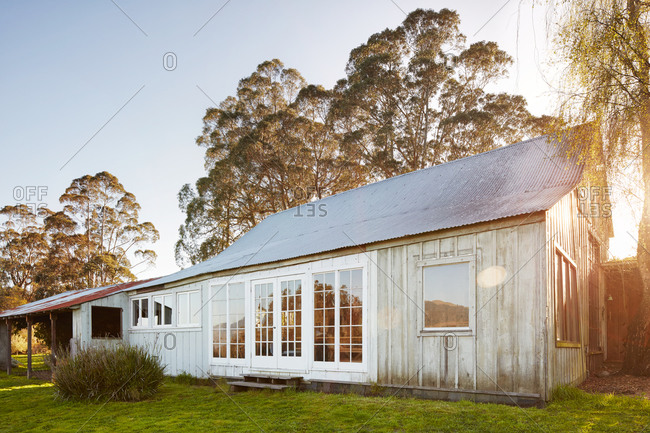 Renovated barn in countryside
