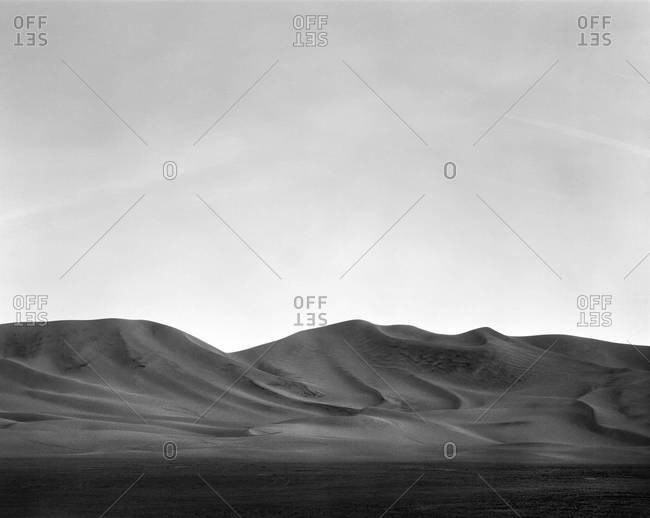 Dumont Dunes in the Mojave Desert