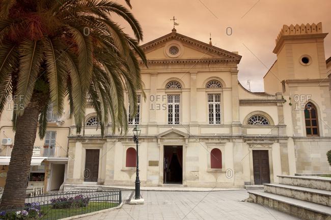 Greece, Corfu, Corfu Town, St. Jacobs Cathedral