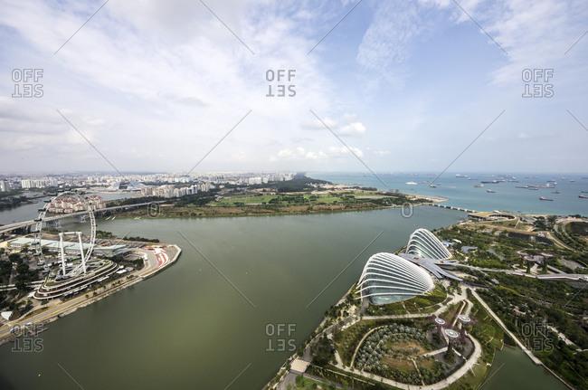 Asia, Singapore, Marina Bay, Theatre