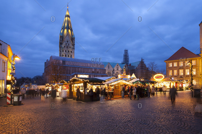 Christmas market at Domplatz