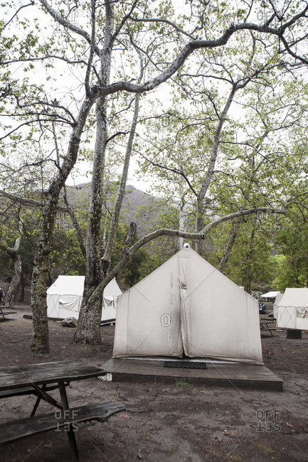 "Tents for ""glamping"" in Santa Barbara California"