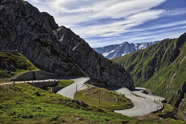 Tremolo, Passo San Gottardo, Ticino, Switzerland